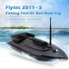 flytec rc boat 2011 5 fish finder 1 5kg loading 500m remote control fishing bait toys for children lipo battery ship