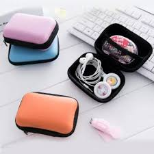 Square Waterproof Earphone Bag <b>Data Cable Storage</b>: Buy Square ...