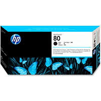 <b>HP DesignJet 80 Black</b> Printhead and Printhead Cleaner, 17 mL ...