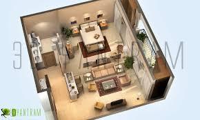 cool 3d gun image 3d floor plan home design ideas and design awesome 3d floor plans