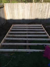 foundation is where it all begins backyard home office build