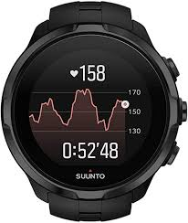 <b>SUUNTO</b> Unisex's <b>Spartan</b> HR <b>Sports Wrist</b>, Black, One Size ...