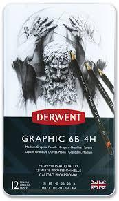 <b>Derwent Набор чернографитных карандашей</b> Graphic Medium 12 ...