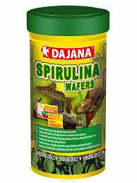 "<b>Корм</b> для рыб <b>Dajana</b> ""<b>Spirulina Wafers</b>"", 100 мл — купить в ..."