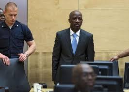 Image result for image de gbagbo à la cpi