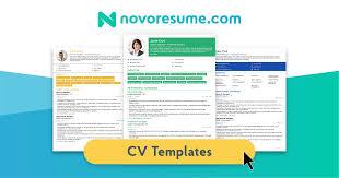 8 Job-Winning <b>CV</b> Templates - <b>Curriculum Vitae</b> for 2021