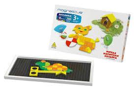 Купить <b>мозаика</b> MAGNETICUS 3+, 290 элементов / 10 цветов / <b>40</b> ...