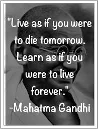 Gandhi Quotes About Education. QuotesGram via Relatably.com
