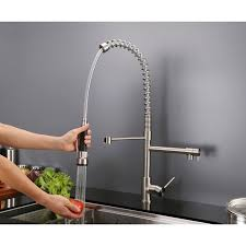 rvfbch pullout spray kitchen faucet