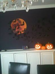 halloween gallery wall decor hallowen walljpg most seen gallery in the charming halloween decorating ideas indoor for fun challenging party