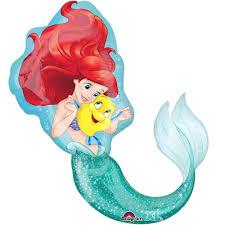 "<b>Little Mermaid</b> Shaped <b>Balloon</b>, 17"" - Walmart.com"