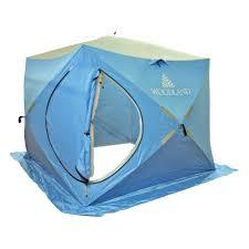 <b>Палатка зимняя WOODLAND</b> ICE FISH DOUBLE 205х205х190 см ...