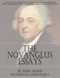 the novanglus essays by john adams the federalist papers john adams the novanglus essays book cover