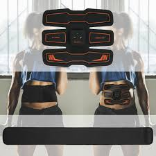 NEW <b>Rechargeable</b> Belly Leg Arm <b>Abdominal Muscle Trainer</b> + ...
