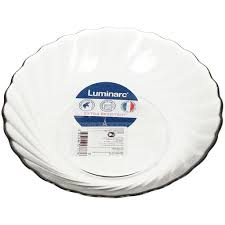 <b>Тарелка суповая стеклянная</b>, 205 мм, Trianon Graphite N5761 ...