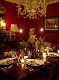 Dining Room Settings Choosing Lovely Ideas For Christmas Banquet Table Decorations