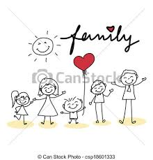 Image result for happy family cartoon images