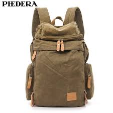 Bag Mochila <b>PHEDERA</b> Hot Super Quality Wash Canvas <b>Men</b> ...