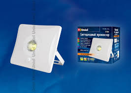 <b>ULF</b>-<b>F31</b>-<b>10W</b>/<b>DW</b> SENSOR IP65 100-265В WHITE <b>Прожектор</b> ...
