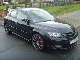 Black Mazda 3 Tenzo Cuzco Matte Black Wheels On Mazda 3 5 Door Likegrasscom
