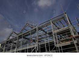 construction site showing girders as a framework and scaffolding construction site showing girders as a framework and scaffolding somewhere to live downturn in the building industry jobs