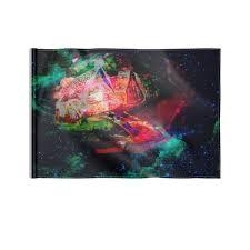 """Флаг 22х15 см """"Галактическая избенка"""" #2555344 от Anna ..."""