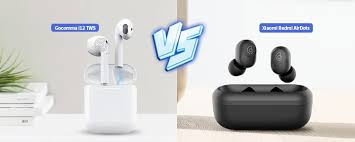 Xiaomi Redmi AirDots vs. <b>Gocomma</b> i12 <b>TWS</b> Bluetooth Earbuds ...