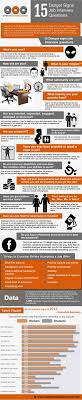 sign job interview questions infographic danger sign job interview questions infographic
