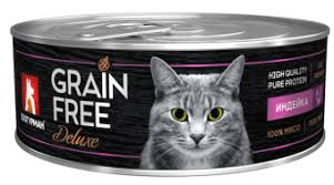 <b>Зоогурман консервы GRAIN FREE</b> 100г с индейкой для кошек ...