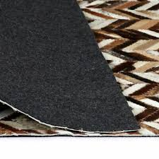 Home, Furniture & DIY vidaXL Shaggy <b>Rug Genuine Leather</b> Floor ...