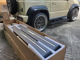 <b>Боковые подножки пороги</b> misutonida для Suzuki Jimny NEW 2019 ...