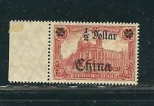 Germany Off China Stamps 54 Mi 44AIb ½HK$ on 1 Mk Red MNH F ...