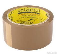 <b>Клейкая Лента</b> (Скотч) <b>UNIVERSAL</b> Коричневый 50мм от ...