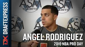 angel rodriguez interview from asm sports pro day