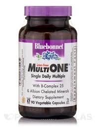 <b>Multi One</b>® <b>Single Daily</b> Multiple (Iron-Free) - 90 Vegetable Capsules