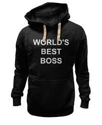 Толстовка Wearcraft Premium унисекс <b>World's Best</b> Boss #2713369