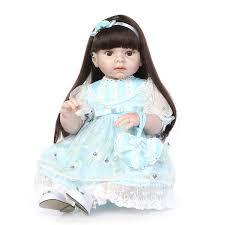 <b>70cm Silicone Reborn</b> Baby Doll Big Safety Silicone Princess Girl ...