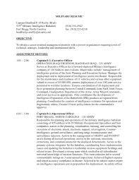 Resume For Veterans Example     BPAX