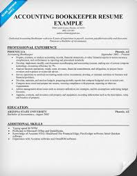 resume help bookkeepers  finance dissertation accounting bookkeeper resume samples