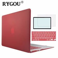 <b>RYGOU</b> Clear Matte Hard Case For <b>Apple</b> Macbook Air Pro Retina ...