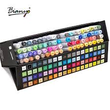 <b>Bianyo</b> Sketch Art Marker Pen For Drawing 72 Colors Watercolor ...