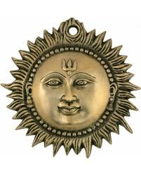 Small Picture Amazing Deal Wall Hanging Sun Brass Metal Plaque Indian Home Decor