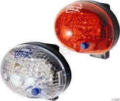 Planet <b>Bike</b> Blinky Safety 1-Led <b>Bicycle Light Set</b> - Lights ...