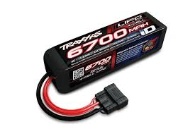 <b>Аккумулятор</b> 6700mAh 14.8v 4-Cell 25C LiPO <b>Battery</b> (iD Plug ...