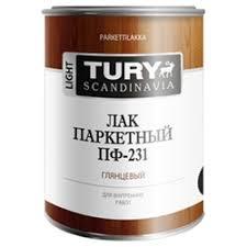 <b>Лак</b> TURY <b>Паркетный ПФ</b>-<b>231</b> (0.9 кг) <b>алкидный</b> — сколько стоит ...