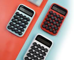 <b>Калькулятор Lofree Digit</b> Красный