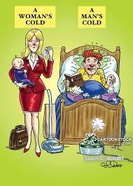 Man Flu Cartoons and Comics - funny pictures from CartoonStock via Relatably.com