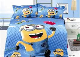 christmas gift 100cotton despicable me bedding full twinboys bedding setsanime chilrd kids bedtwin full bed set bedding sets twin kids