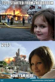She Really Loves Fire/ Disaster Girl Is All Grown Up by recyclebin ... via Relatably.com