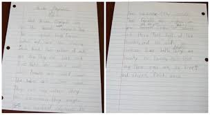We also integrated the writing ideas into our American History unit study  Alyssa chose a book about the Declaration of Independence and created a key word